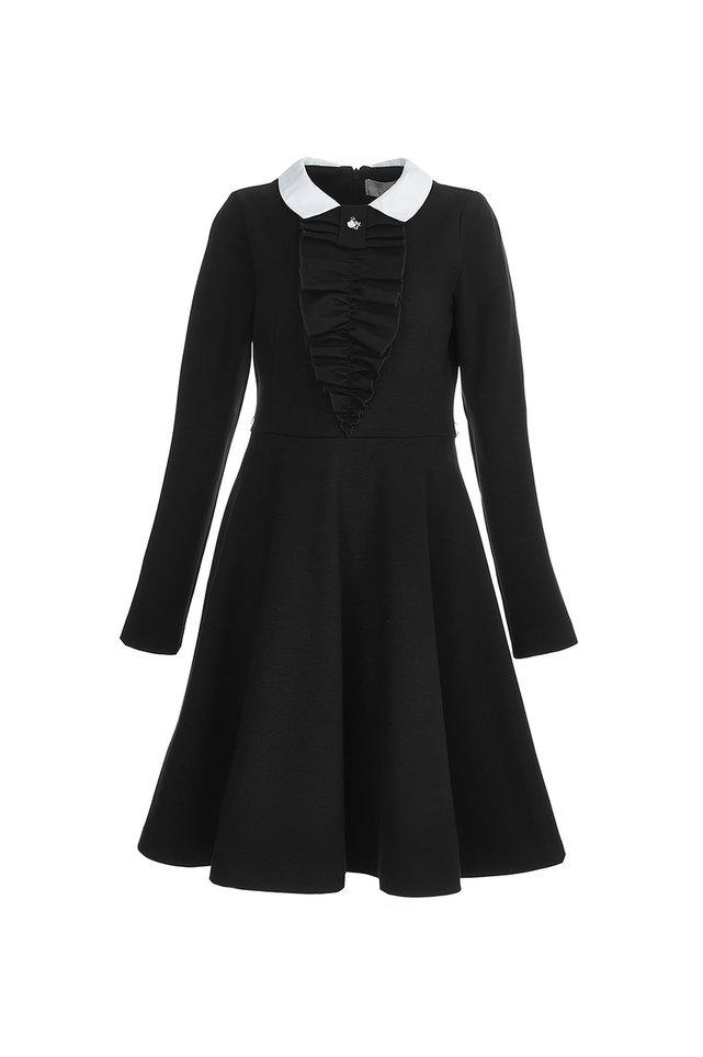Школьное Платье С Рукавом